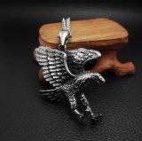 Accessori di modo d'acciaio di titanio Pendant della collana degli uomini dell'aquila dell'annata