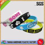 Wristband feito sob encomenda do silicone da forma com certificação do GV
