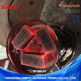 Шестиугольника цен Smokless твёрдая древесина угля дешевого изготовленный на заказ естественная