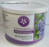 Dose des Lavendel-enthaarendes Wachs-weiche Streifen-Wachs-400g