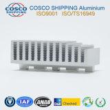 Überlegenes Aluminiumkühlkörper-Profil mit der natürlichen Anodisierung und der maschinellen Bearbeitung