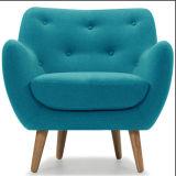 Modernes klassisches Möbel-Gewebe-hölzerner Retro Stuhl