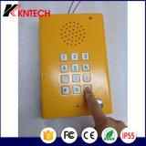 Telefone IP à prova de explosão de emergência IP Telefone ao ar livre Knzd-29 Blue Light Station com voz