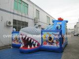 Aufblasbare Haifisch-Trampoline Playland