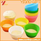 Förderung-bunter Küchenbedarf, der Hilfsmittel-Silikon-Kuchen-Form (YB-HR-48, kocht)