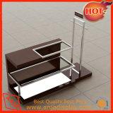 Estantes y soportes de visualización del almacén de ropa del metal para el almacén