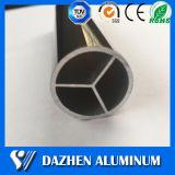 Anodisiertes Aluminiumaluminiumstrangpresßling-Legierungs-Quadrat/rund/Ebene/ovales Gefäß-Profil
