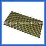 золотистая серебряная Silk доска волокна углерода 3k