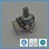 potentiomètre rotatoire de 16mm avec le long Pin pour le matériel sonore