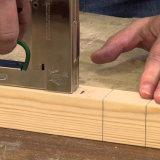 agrafes de la série BCS4 galvanisées par 16ga pour la toiture, Furnituring