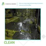 Eine nicht brennbare thermische Isolierungs-Glaswolle ordnen