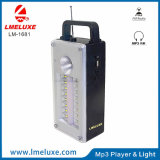 Indicatore luminoso Emergency ricaricabile dell'altoparlante LED di Protable FM