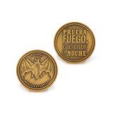 Античная латунная монетка медальона как подарок промотирования