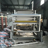 Machine d'impression multicolore de gravure de Shaftless pour le film plastique (arbre pneumatique)