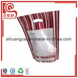 Saco composto plástico de alumínio do alimento da forma do malote