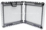 Tableau de pliage extérieur du HDPE 4FT avec à moitié Plier-Blanc