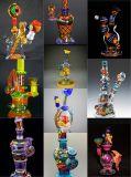 Preiswerte Kunst-Glaswasser-Rohre für das Rauchen mit schöner Farbe und guter Qualität