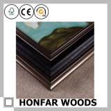 Glasfoto-Rahmen-Ölgemälde-Holz-Rahmen