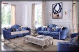 熱い販売の快適な居間ファブリックソファーの椅子