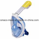 Вполне - маска Snorkel взгляда - маска Snorkling полной стороны, свободно дышая конструкция с анти- туманом