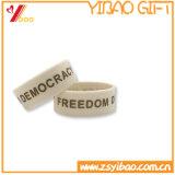 De Armband van het Silicone van het Embleem van de douane voor Promontion