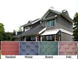 Linha de produção da telha da telhadura de asfalto da fibra de vidro da planície da forma redonda da fonte do fabricante para a venda