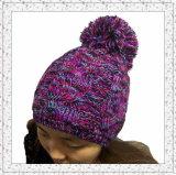 Concevoir le chapeau de Beanie d'armure de jacquard/chapeau tricotés par crochet (1-3461)