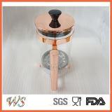 Pressa disponibile del caffè di colore del rame/Rosa-Oro/oro della pressa del francese Wschsy013
