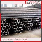 Tubos de acero negros soldados ERW para el material de construcción