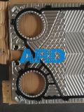 Titanio de la placa Ss304 316 del cambiador de calor de la placa de Vicarb V8 Vu8 V13