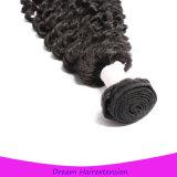 волосы девственницы путать высокого качества 8A свободно линяя свободно курчавые бразильские