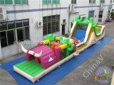Corsa ad ostacoli gonfiabile di migliore vendita per i bambini