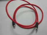 Modelo nuevo 3.1A Kevlar trenzado de nylon USB-C al cable de USB-C