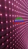 LED Video Wall / Soft Flexible LED Curtain para Iluminação de palco (P30, P55, P80 LED net screen)