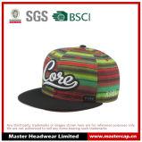O chapéu colorido do Snapback com 3D bordado