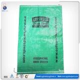 Saco tecido PP revestido do plástico 50kg da fábrica de China para o fertilizante
