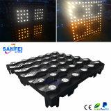 전문가 LED 36PCS*3W 금 백색 매트릭스 빛