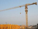 Kraan de Met platte kop van de Toren van de Machines van de bouw Qtz60 (PT5010)
