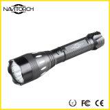 Schwarze Aluminiumlegierung nachladbare CREE XP-E LED Fackel (NK-17)