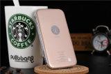 8000mAh StarbucksのダイヤモンドデザインiPhone Samsungのためのユニバーサル力バンク