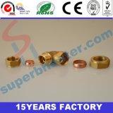 銅の肘付属品、管付属品の銅の肘