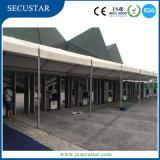 33の検出ゾーンのゲートを通るSecustarの歩行