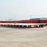 2 Axles 40ft и 20ft контейнера трейлер Semi