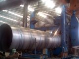 Труба сваренная спиралью слабая стальная