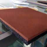 Плиток игры плитки плитки нового продукта плитка резины выскальзования квадратных резиновый напольных резиновый земных резиновый анти-