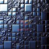Mosaico di cristallo moderno di colore blu di titanio (TC362)