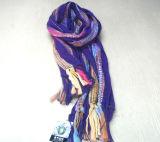 Écharpe tricotée (09JY-J-4)