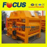 Js500, 750, 1000, mezclador concreto del eje gemelo obligatorio 1500