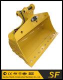 予備品の地球移動機械装置のバケツを傾ける小型掘削機のバケツ