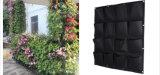 La piantatrice Pocket di Onlylife 16 su verde della pianta di giardinaggio della parete coltiva i sacchetti del contenitore che appendono i POT di fiore del feltro di verticale